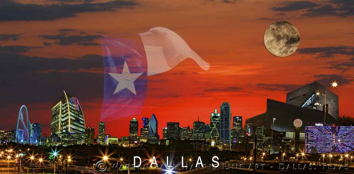 Dallas Skyline 2013