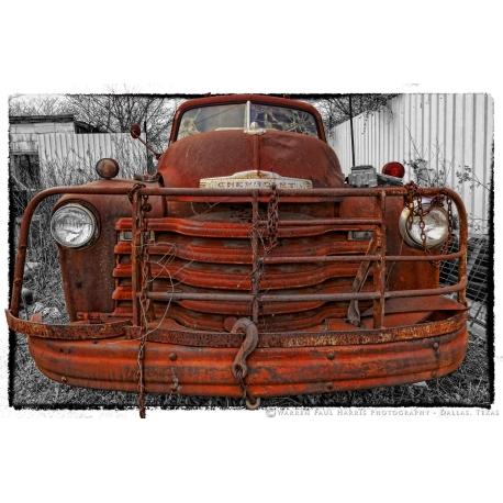Chevy Wrecker Selective Color