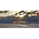 Caribbean Crepuscular Rays