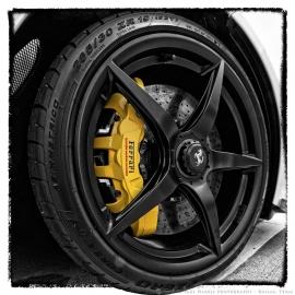 Ferrari Wheel Selective Color