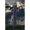 Reunion Tower Sunset Composite