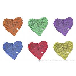 Heart Shaped Leaves Grid