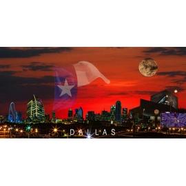 Dallas Sunrise Skyline 2013