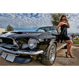 67 Mustang Girl