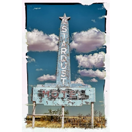 Stardust Motel Sign