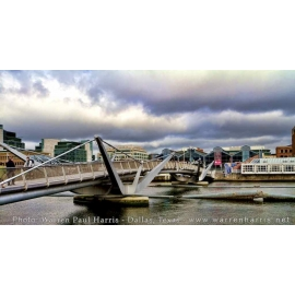 Angle View Sean O'Casey Bridge Dublin