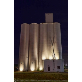 Frisco Grain Elevators at Night
