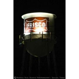 Frisco Water Tower Night