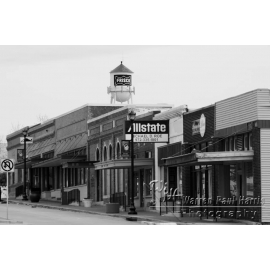 Downtown Frisco Black & White