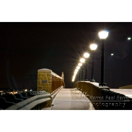 El Dorado Bridge in Snow