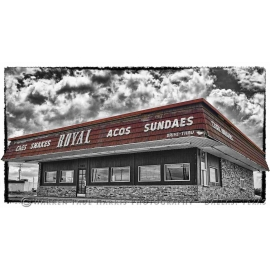 Royal DriveIn Selective Color