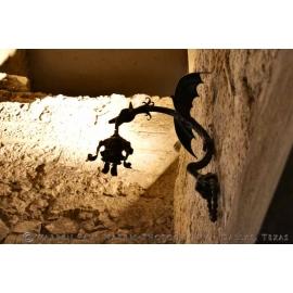 Wall Dragon Silhouette