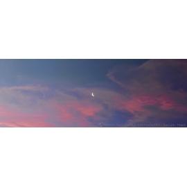 Sunrise Moon Slice