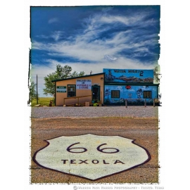 Texola Waterhole 2 - Route 66
