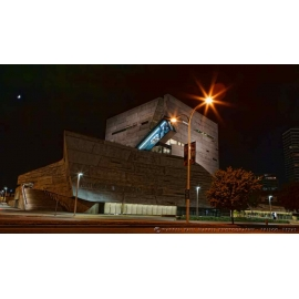 Perot Museum at Night