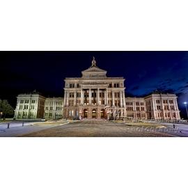 Austin Capitol Night