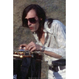 John Cipollina Playing Slide Guitar