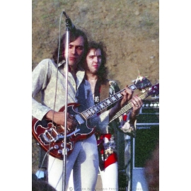 John Cipollina and Mario Cipollina on Stage