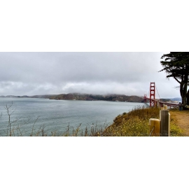 Golden Gate Bridge Left Panorama
