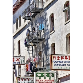 Chinatown Signs and Laundry