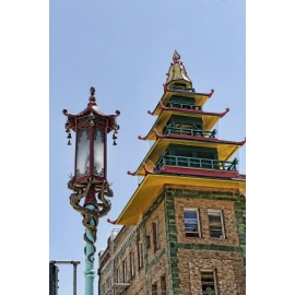 Chinatown Dragon Lamp