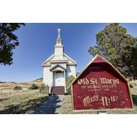 Old St. Marys Church - Nicasio California