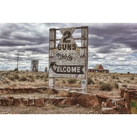 Two Guns Kamp Entrance Route 66