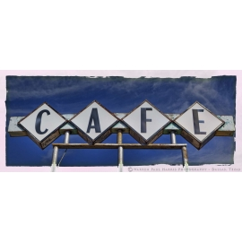 Cafe Sign - Vega - Route 66