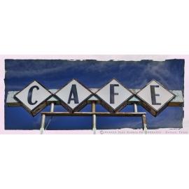 Cafe Sign - Vega - Route 66