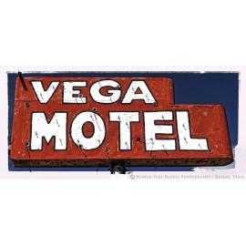 Vega Motel Sign