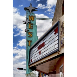 West Theater Marquee Route 66