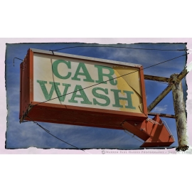 Car Wash Sign - Route 66