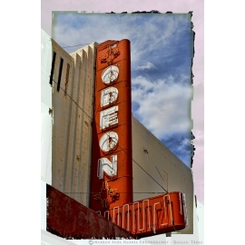 Odeon Theater Marquee Route 66