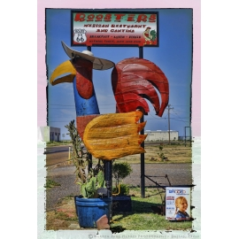 Giant Rooster - Route 66