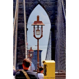 Brooklyn Bridge Lamp - NYC