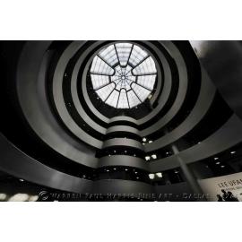 Guggenheim Interior Monochrome
