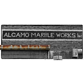 Alcamo Marble Works Sign