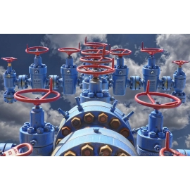 OKC Valves in Clouds