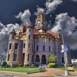 Dekalb County Courthouse - Texas