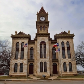 Bosque County Courthouse - Texas