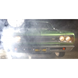 69 Super Bee Front Smoke