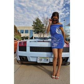 Leggy Powder Blue Lambo