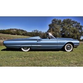 Blue 1964 T-Bird Side