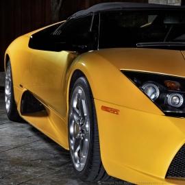 Yellow Lambo Front Angle