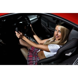 Schoolgirl Ferrari