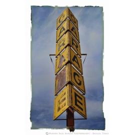 GARAGE Sign - Tucumcari